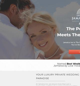 Jamaica Inn UK Landing Page