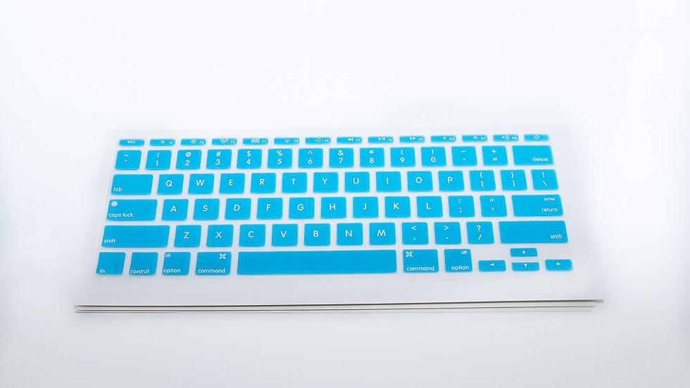 CrystalGuardMB Macbook Silicone Keyboard Cover BLUE