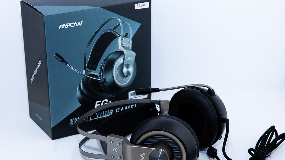 MPOW Eg3 Gaming Headset, 7.1 Surround Sound Gaming Headphones