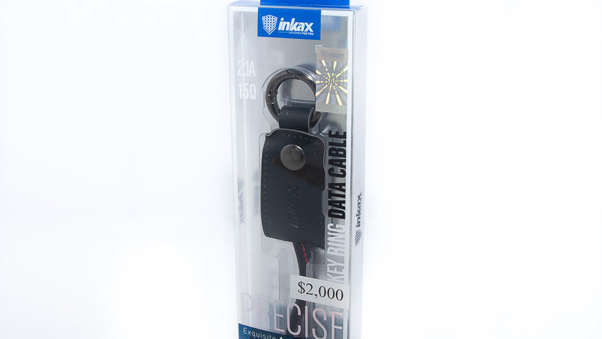 Inkax Key Ring Micro USB Cable