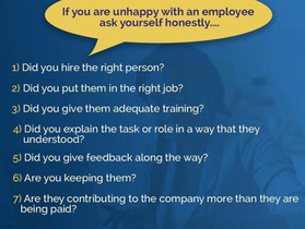 Unhappy with an Employee? Ask yourself these 7 questions.