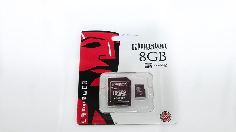 Kingston Micro SD Card 8GB Memory Card