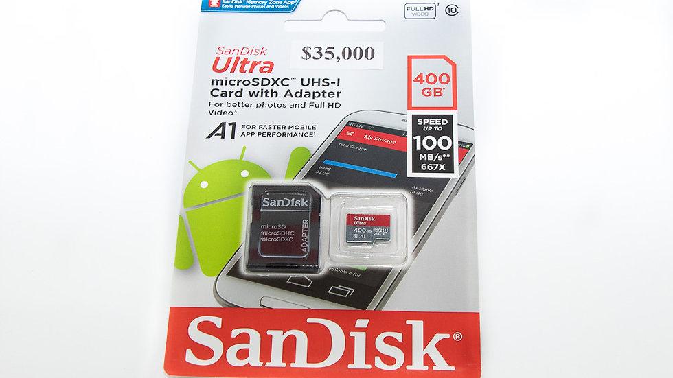 SanDisk 400 GB Micro SD Memory Card MicroSDXC Ultra