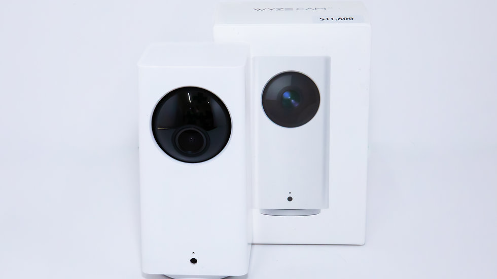Wyze Cam Pan 1080p Pan/Tilt/Zoom Wi-Fi Indoor Smart Home Camera