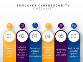 Employee Cybersecurity Checklist