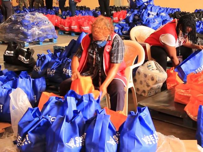 PSOJ COVID-19 Response Fund Begins Delivering Food Packages