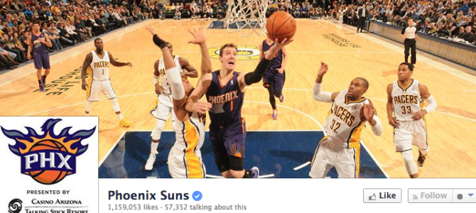 Phoenix Suns – Social Media and Relationship Marketing