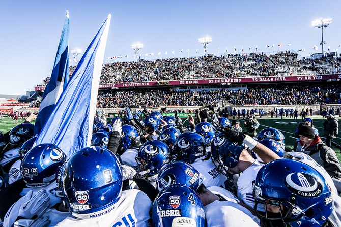 The 50th CIS Vanier Cup – Captivating an Audience