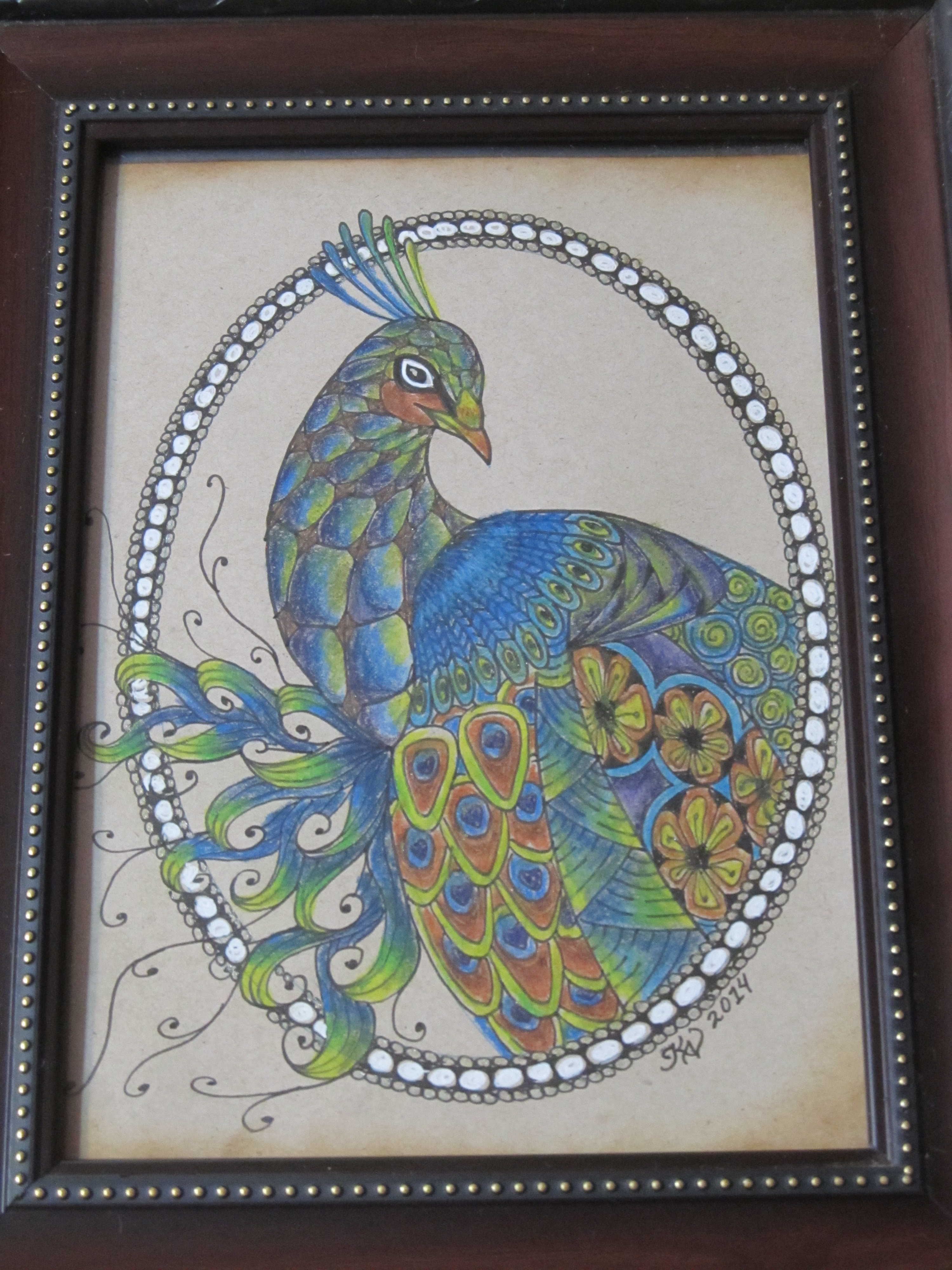Custom Peacock