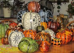 Tangled Faux Pumpkins