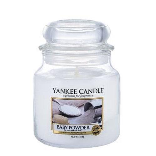 """Yankee Candle """"Baby Powder"""" - Grösse M"""