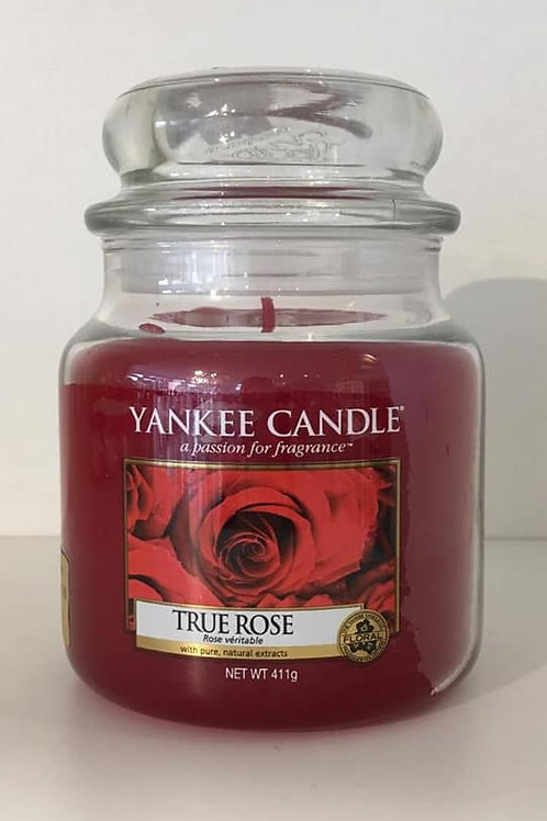 "Yankee Candle ""True Rose"" - Grösse M"