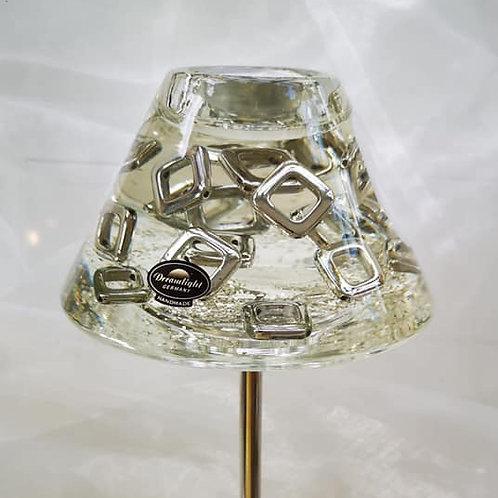 Glas-Teelichthalter