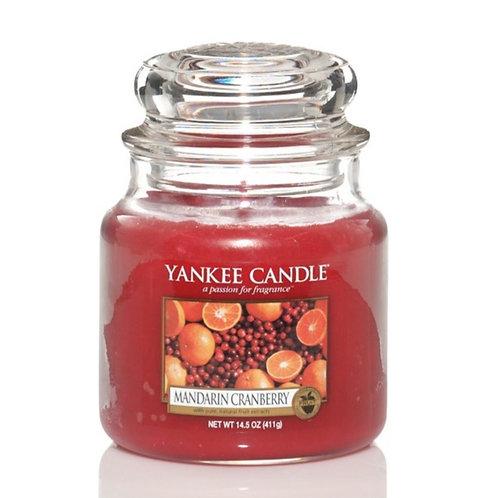 "Yankee Candle ""Mandarin Cranberry"" - Grösse M"
