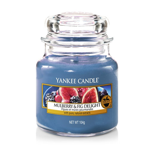 """Yankee Candle """"Mulberry & Fig Delight"""" - Grösse M"""