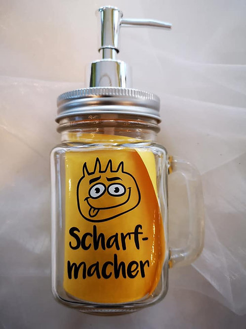 """Senf-Spender """"Scharfmacher"""""""