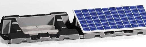 リサイクル可能な【HMWPE(超高分子量ポリエチレン)架台】をリリースします