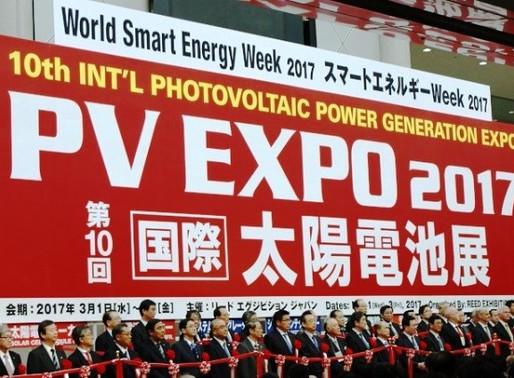 スマートエネルギーWeek 2017【第8回太陽光発電システム施工展 PV SYSTEM EXPO 2017】に出展しました