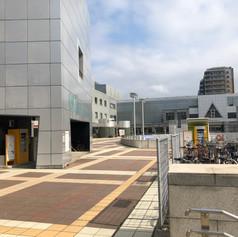Walk towards Hotel Nikko Tsukuba