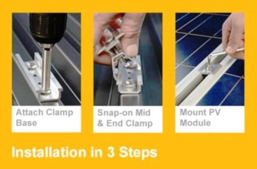 コンパクトで取付け簡単、重ね折半屋根用【スリーステップ金具】をリリースします