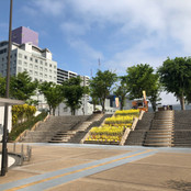 バスターミナル階段
