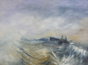 Wreck with fishing boats (after Turner)
