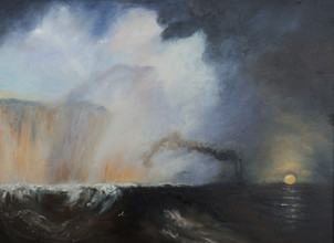 Staffa, Fingal's Cave (after Turner)