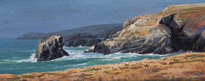 Sun before rain, Porthcothan
