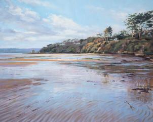 Wet sand, Porthilly