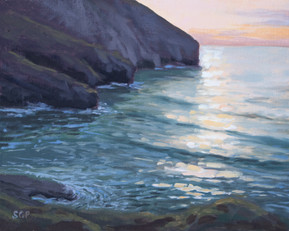 Evening light, Trebarwith