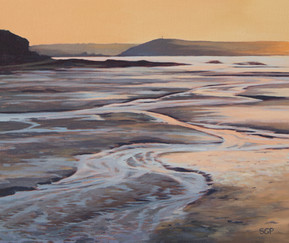 Low tide, evening