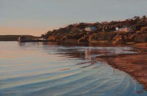 Evening light, Porthilly bay