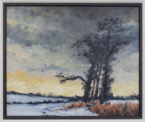 Winter tree (after Courbet)