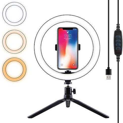 BEAUTY LED RING LIGHT TRIPOD