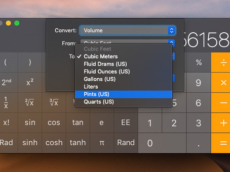 Pro Tip: Utilize the power of Calculator on Mac