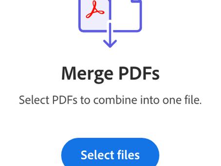 Pro Tip: Easily combine PDF files