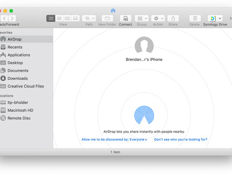 Pro Tip: Share files from your Mac to other Apple devices using AirDrop