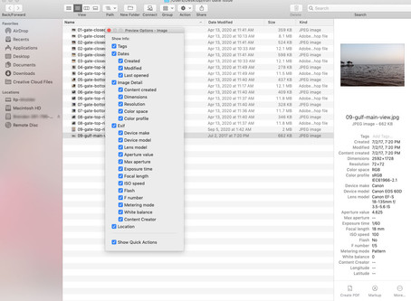 Pro Tip: View image metadata in Finder on Mac