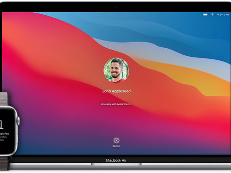 Pro Tip: Unlock your Mac with your Apple Watch