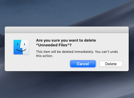 Pro Tip: Instantly delete a file on Mac