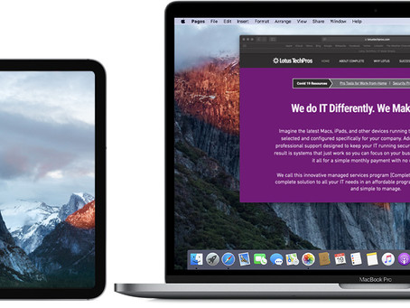 Pro Tip: Use an iPad as a second display on Mac