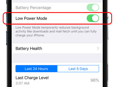 Pro Tip: Save battery with Low Power Mode on iPhone