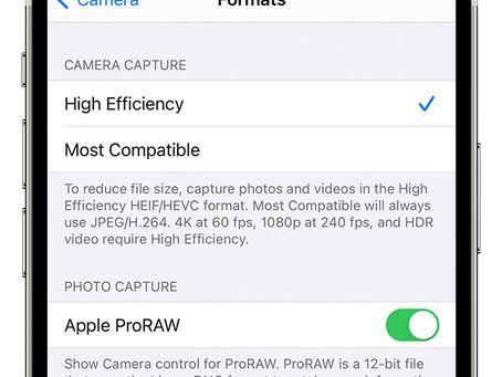 Pro Tip: Take raw photos on iPhone