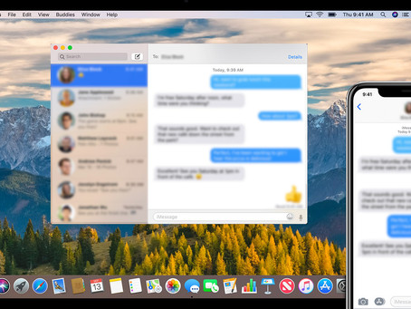 Pro Tip: Get text messages on your Mac