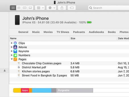 Pro Tip: Use Finder to share files between your Mac and your iOS devices