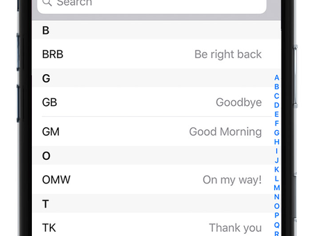 Pro Tip: Customize text replacement on iPhone