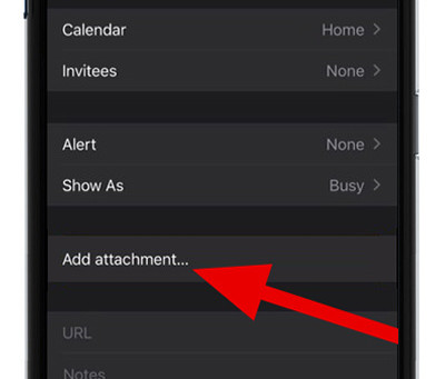 Pro Tip: Add attachments to calendar events on iPhone