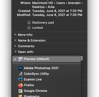 Pro Tip: Change the default app for different file types