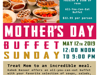 Mother's Day 2019 Special Buffet