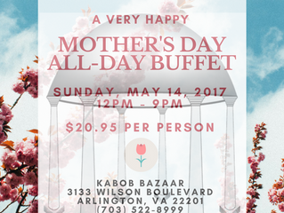 Mother's Day 2017 All-Day Buffet